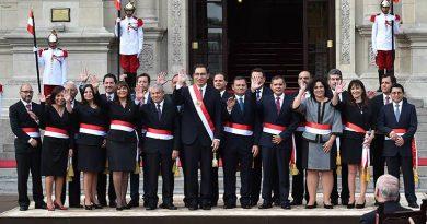 ministros peru
