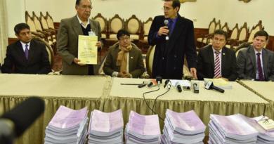 tsj entrega documentos a comision de la verdad