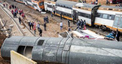 accidente tren marruecos