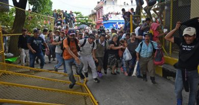 migrantes barreras