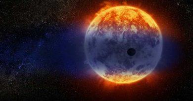 planeta se desvanece