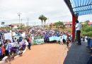Morales entrega enlosetado de calle que beneficia a tres barrios de Cobija