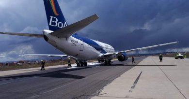 avion boa incidente