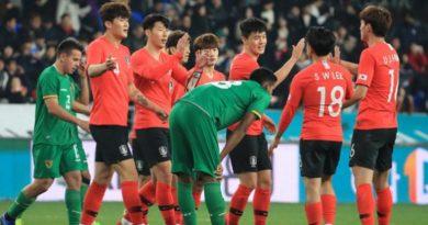 Bolivia cayó ante Corea del Sur (0-1) en la recta final