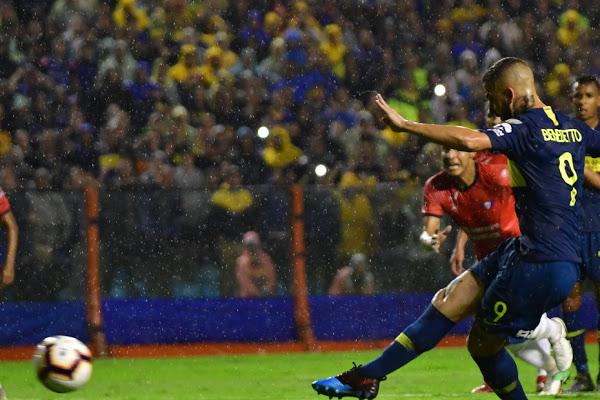 BOCA vs WILSTERMAN   Libertadores 19 Foto : MARCELO CARROLL