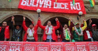 Bolivia dice no desconocera posible victoria electoral de evo
