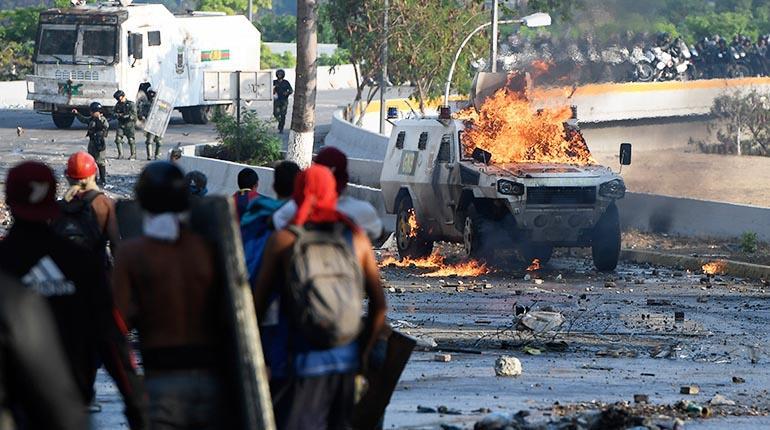 alzamiento militar venezuela