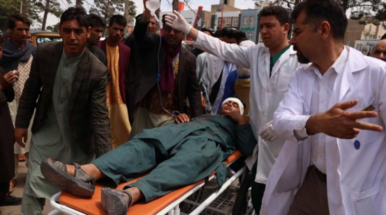 herido ataque carro bomba afganistan