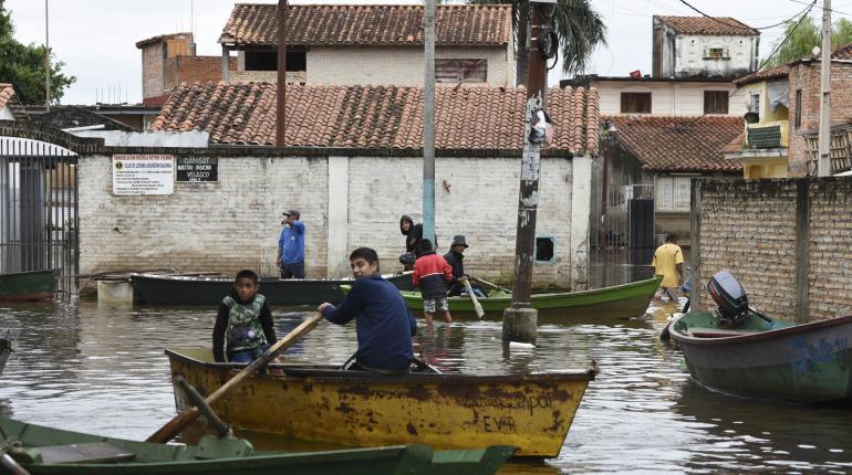inundaciones paraguay