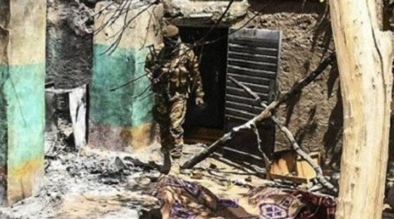 ataque a aldea mali