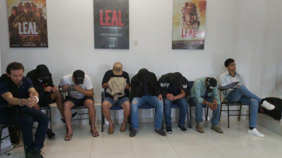 droga incautada paraguay - detenidos