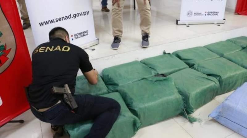 droga incautada paraguay