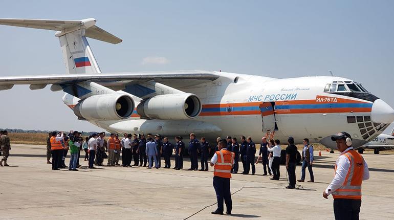 avion ruso en bolivia