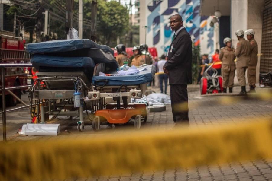 incendio hospital brasil