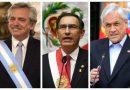 Argentina, Chile y Perú cierran sus fronteras a causa del coronavirus