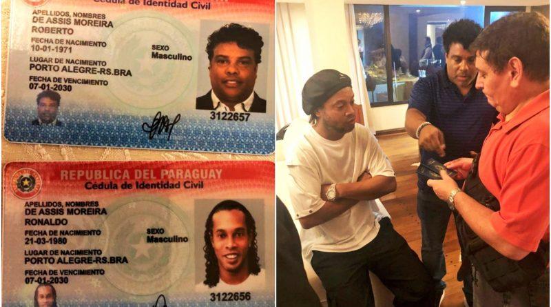 ronaldinho pasaporte falso