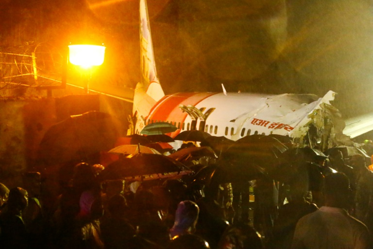 avion partido en india
