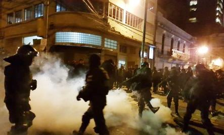 Policias-manifestantes