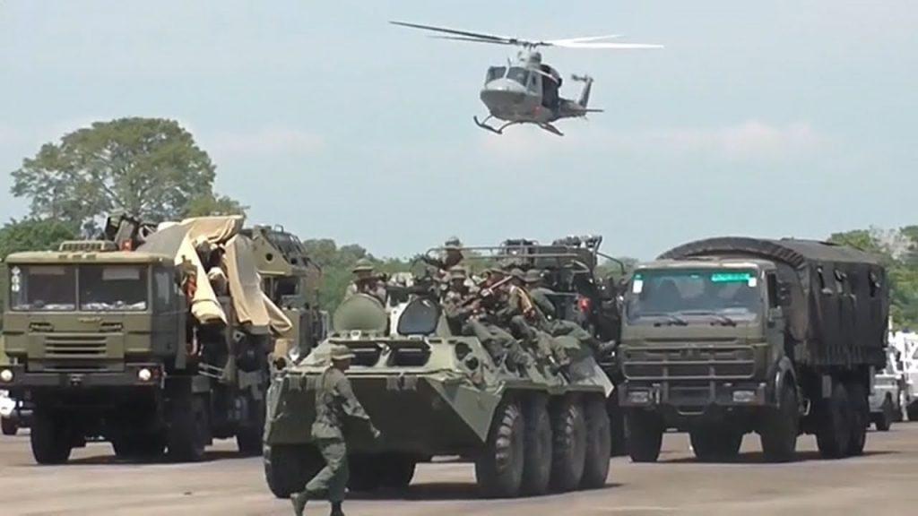ejercicios militares de venezuela