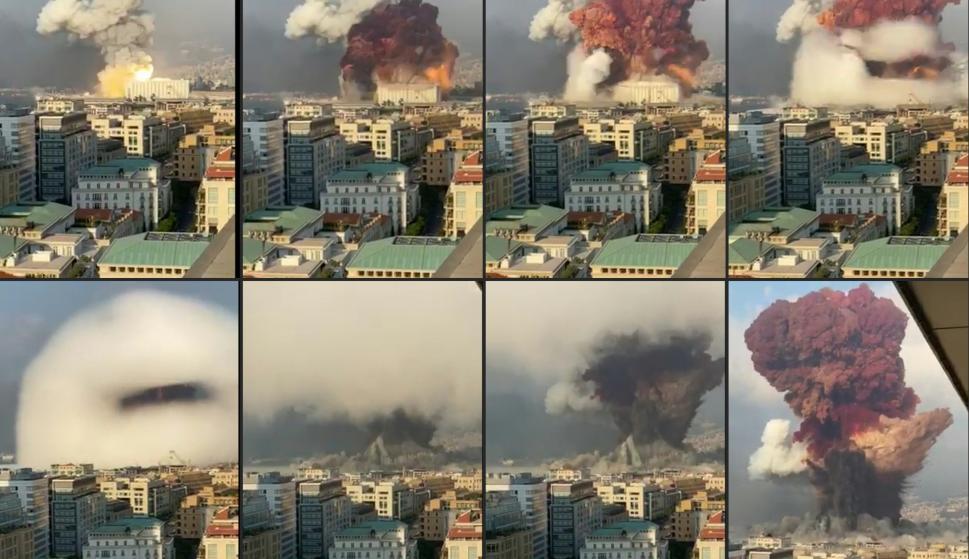 explosion puerto de beirut