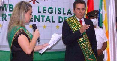 Unzueta asume la Gobernación del Beni y el MAS toma el control de la Asamblea