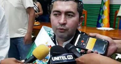 Regis Germán Richter asume como gobernador de Pando y pide coordinación con el Gobierno
